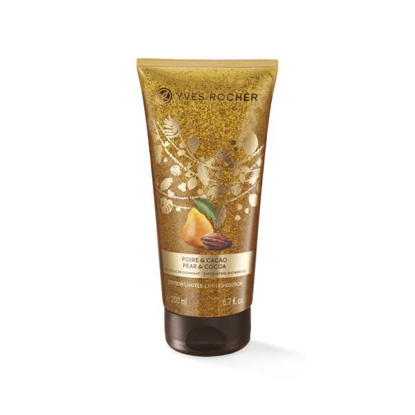Gel Douche Gommant Poire & Cacao