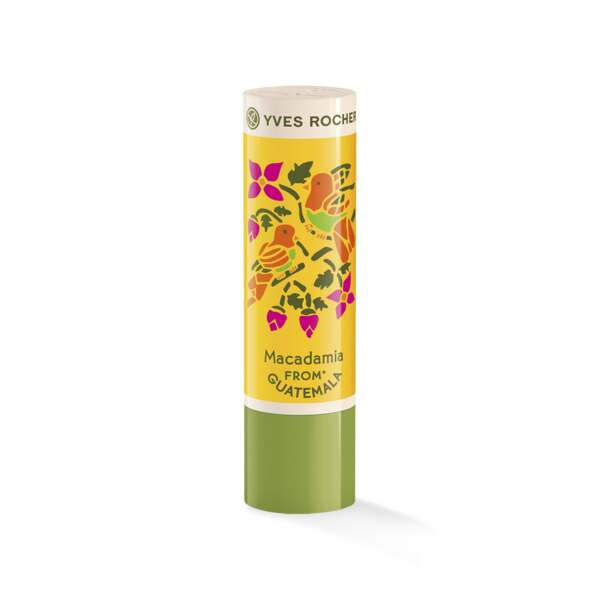 Lipbalm Protection & Care Macadamia- Edition jaune