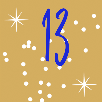 Adventskalender Tür 13