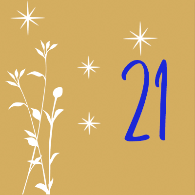 Adventskalender Tür 21
